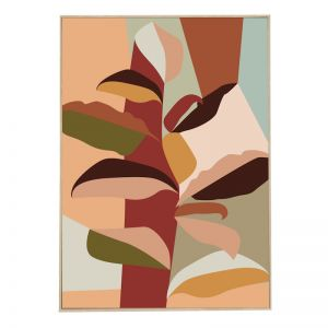 Auburn Palms | Caramel Box Frame | Front View
