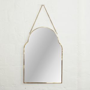 Audre Arch Brass Mirror l Pre Order