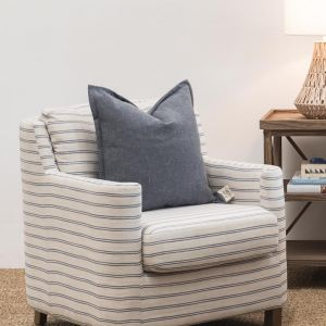 Augusta Armchair Coast Stripe