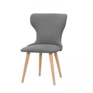 Augusta Dining Chair | Steel Grey Coloured Seat