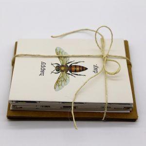 Australian Bee Cards Variety   8 Pack