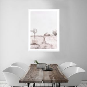 Australian Farm I Premium Art Print (Various Sizes)
