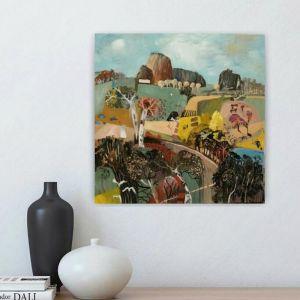 Australian Landscape | Rocky Hills #2 by Susan Trudinger | Bluethumb