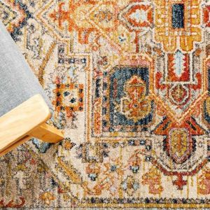 Autumn 850 Rust Area Rug - PREORDER NOW FOR LATE JULY 2020 ARRIVAL