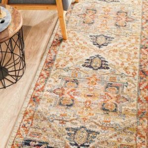 Autumn 850 Rust Runner Area Rug
