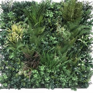 Autumn Greenery Bespoke Vertical Garden | Green Wall UV Resistant 90cm x 90cm