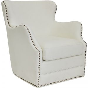 Autumn Swivel Occasional Chair | Grey or Ivory