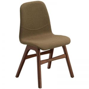 Ava Dining Chair | Cocoa + Latte | Modern Furniture