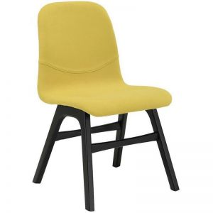 Ava Dining Chair | Espresso + Pistachio | Modern Furniture