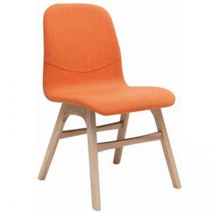 Ava Dining Chair | Tangerine