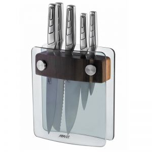 Avanti Elite 6PC Knife Block | German Stainless Steel Knives