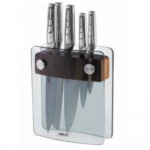 Avanti Elite 6PC Knife Block   German Stainless Steel Knives