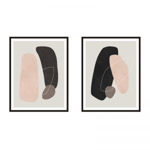Average Element | Framed Print Set | ArteFocus