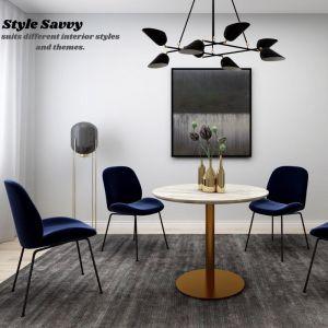 Avery Classic Velvet Dining Chair | Set of 2