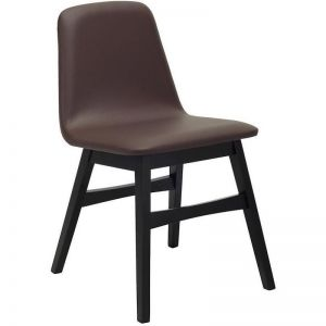 Avice Dining Chair | Mocha | Modern Furniture