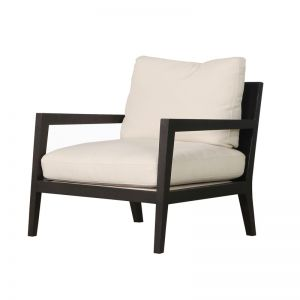 Axiom Occasional Chair | Fabric | Pre Order | Dark Wenge & Natural Fabric