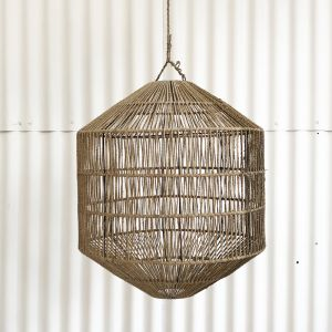 Azin Jute Octagonal Lighting in Natural
