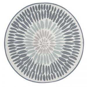Azores | Recycled Plastic Outdoor Rug | 180cm Round Rug