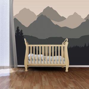 Baby Mountain Natural | Full Wall Mural