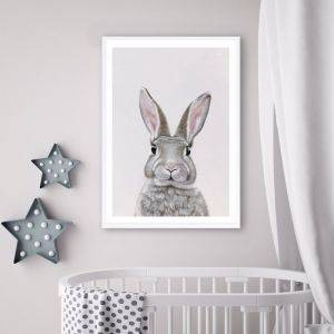 Baby Rabbit III Premium Art Print (Various Sizes)
