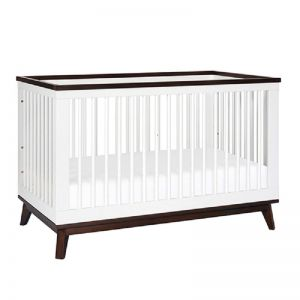 Babyletto | Scoot 3 in 1 Cot | White/Walnut