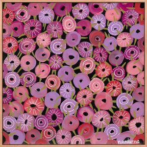 Bachelor Buttons I Art Print by Nadurna
