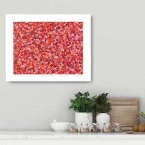 Bachelor Buttons II | Unframed Print
