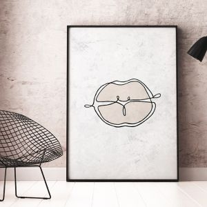 Bacio | Art Print | Framed or Unframed