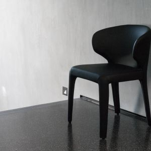 Bailey Dining Chair   Black Leather Look PU