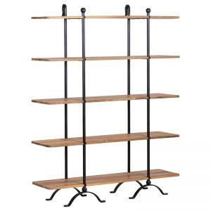 Baker Iron & Reclaimed Teak Shelf | 149cm | Schots