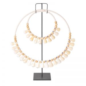 Bali Shell Hoop on Stand | BY SEA TRIBE