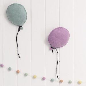 Balloon Felt Wall Hanging | Lavender