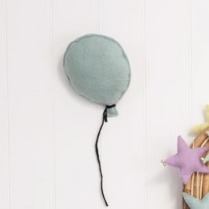 Balloon Felt Wall Hanging | Sky Blue