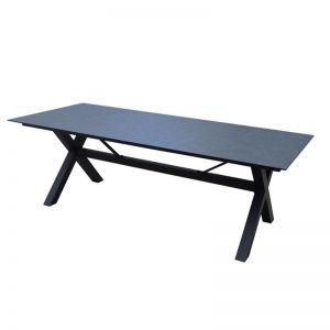 Balwyn Ceramic Outdoor Dining Table | Black