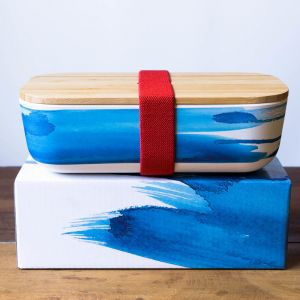 Bamboo Pack Lunchbox | Blue Wave