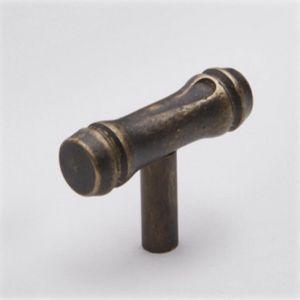 Bamboo T-Bar | Antique Brass