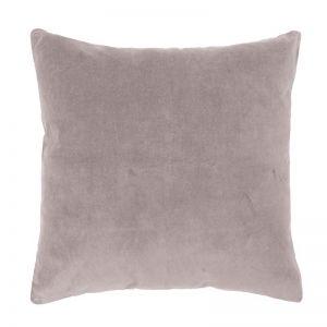 Bambury Velvet European Pillowcase | 65 x 65cm | Dove