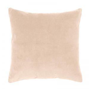 Bambury Velvet European Pillowcase | 65 x 65cm | Nude