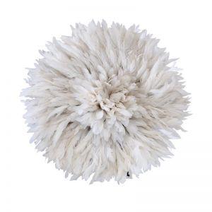 Bamileke Juju Hat | White | by Raw Decor