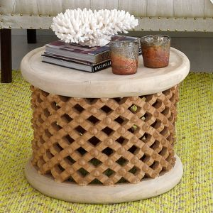 Bamileke Table in Natural