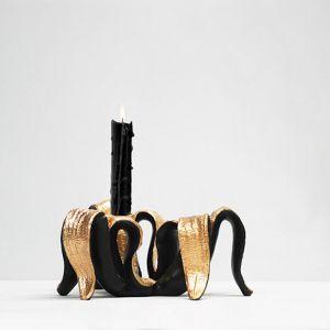 Banana Candle Holder | Black