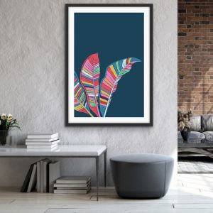 Banana Palm | Banana Palm Art or Canvas Print