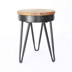 Banjo Stool by Black Mango