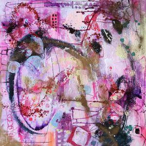 Barcelona Magic | Original Artwork on Canvas | by Melissa La Bozzetta. SOLD. Please Inquire.