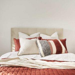 Barkley Bed Frame W/Upholstered Bedhead   Various Sizes