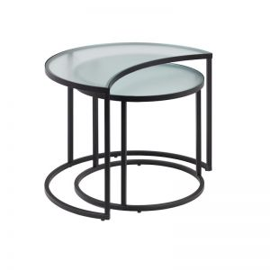 Bast Nesting Side Tables