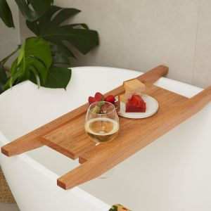 Bath Caddy | White Mahogany
