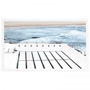 Bathing In Bondi | Framed Art Print