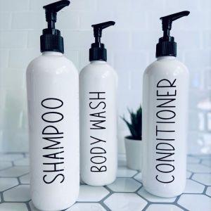 Bathroom Bottles | Minimalist | Sassy & Arbee