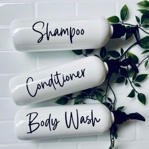Bathroom Bottles | Modern | Sassy & Arbee